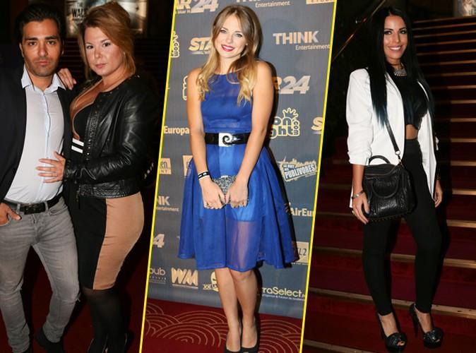 Photos : Cindy Lopes très amoureuse, Sara Ange, Siham Bengoua... les starlettes de télé-réalité font le show au Grand Rex !