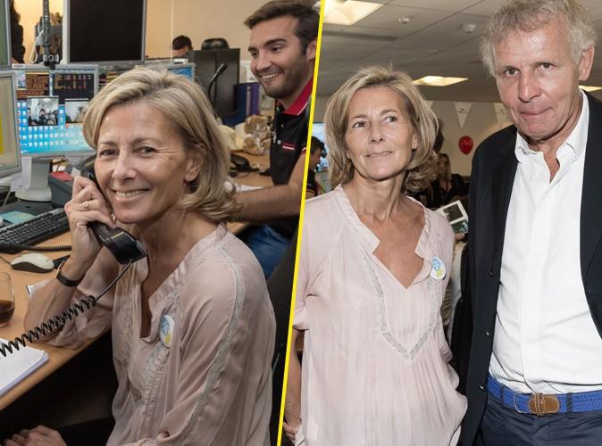 Claire Chazal à Paris le 11 septembre 2015