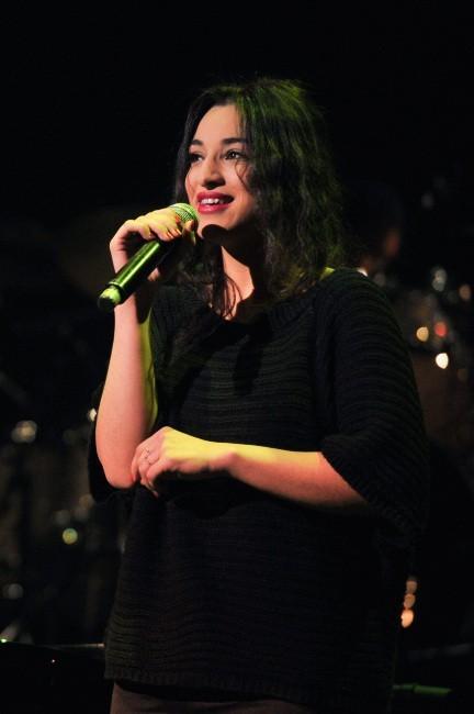 Camelia Jordana le 30 janvier 2013 au Grand Rex, à Paris
