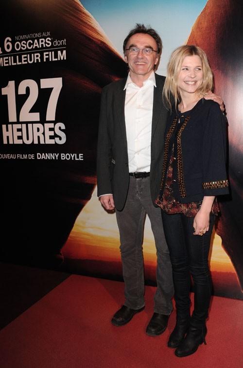 Avec le réalisateur britannique Danny Boyle.