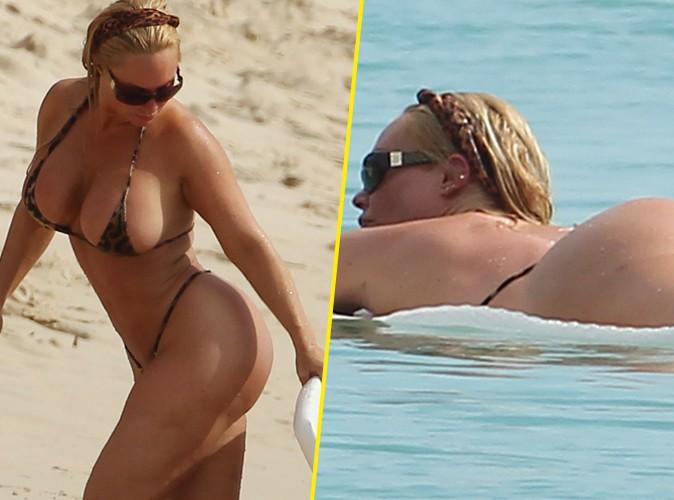 Coco Austin : �a flotte toujours autant � la Barbade pour la femme d'Ice T !