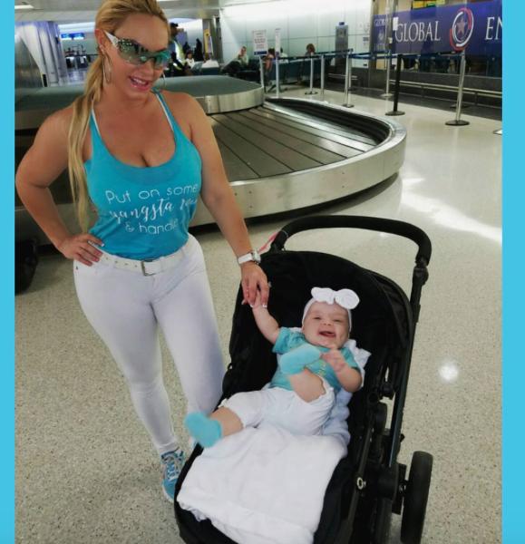 La petite Chanel va suivre les traces de maman