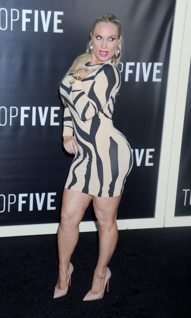 Coco Austin le 3 décembre 2014