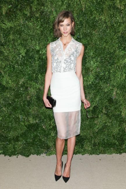 Karlie Kloss le 13 novembre 2012 à New York