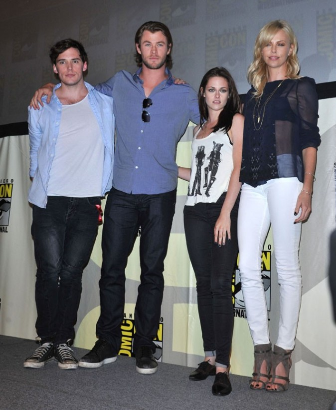 Le cast de Blanche-Neige hier au Comic Con de San Diego