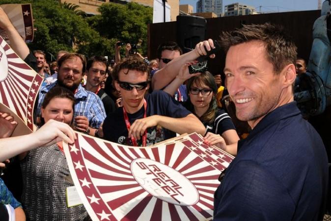 Wolverine n'est pas du genre à bouder les séances d'autographes...