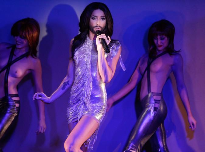 Conchita Wurst : la guest-star du Crazy Horse a fait ses premiers pas sur la mythique scène parisienne !