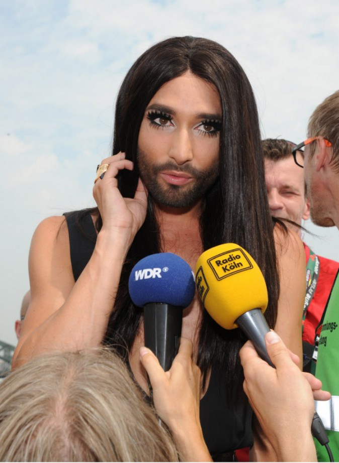 Conchita Wurst à la gay pride de Cologne