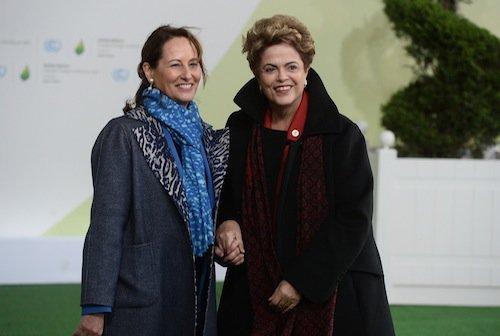 Ségolène Royal et Dilma Rousseff (Brésil)