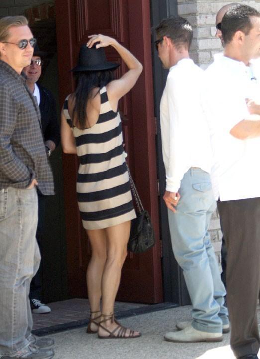 Courteney Cox et David Arquette lors de la fête organisée par Joel Silver à l'occasion du Memorial Day, le 30 mai à Malibu.