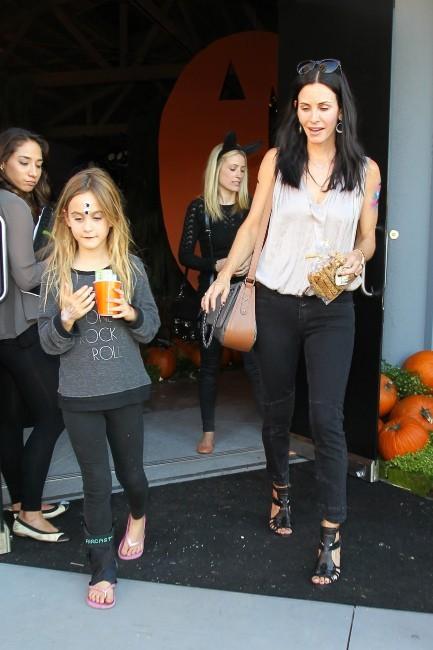 Courteney Cox le 27 octobre 2012 à Los Angeles