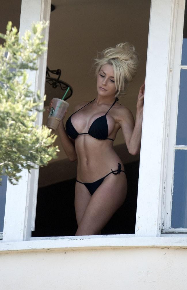 Courtney Stodden et sa nouvelle poitrine à Los Angeles le 18 juin 2013