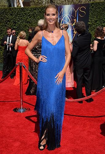Heidi Klum à Los Angeles le 16 août 2014
