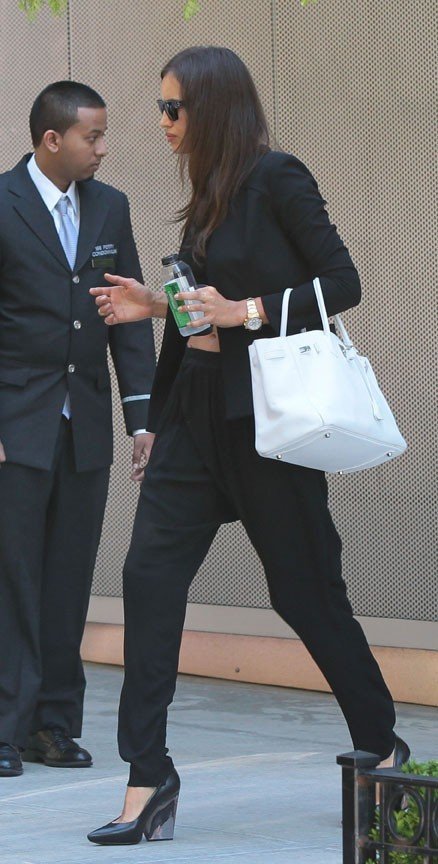 Irina Shayk et Cristiano Ronaldo à New-York le 19 juin 2013