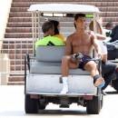 Cristiano Ronaldo, Los Angeles, 7 aout 2012.