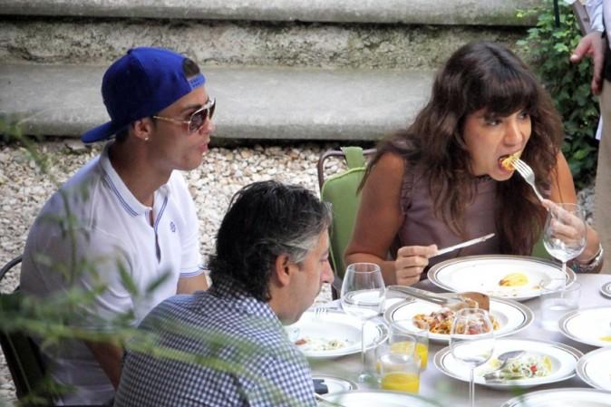 Cristiano Ronaldo à Rome le 25 octobre 2012