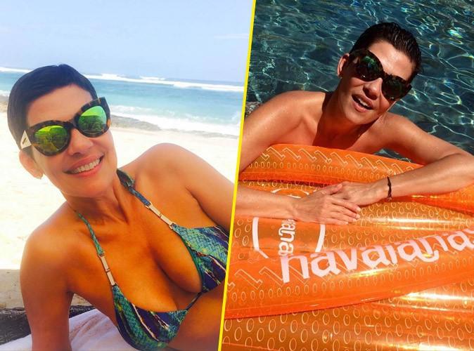 Cristina Cordula en vacances à Bali