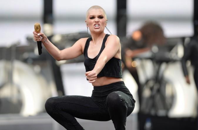 Jessie J, sur scène lors du Sound of Change Live concert, à Londres, le 1 juin 2013.