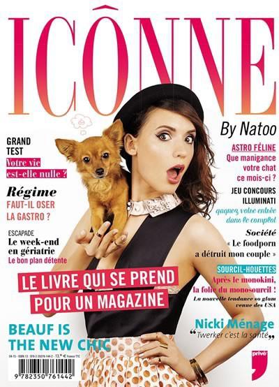 Culture buzz : livre : Icônne, par Natoo, éditions Privé. 13,95 €.