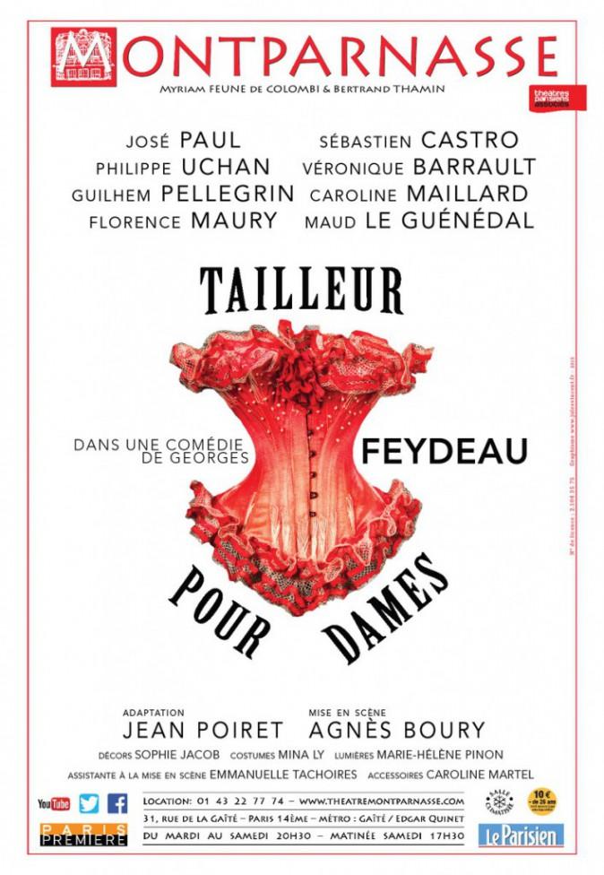 Humour : Tailleur pour dames, au Théâtre Montparnasse, Paris 14e, jusqu'au 18 juillet. 22€ sur fnacspectacles. com