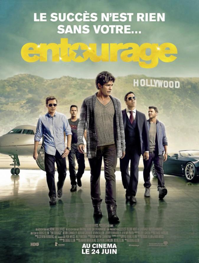 Ciné : Entourage, de Doug Ellin avec Adrian Grenier, Kevin Connolly et Kevin Dillon (1 h 44), en salles le 24/06/15