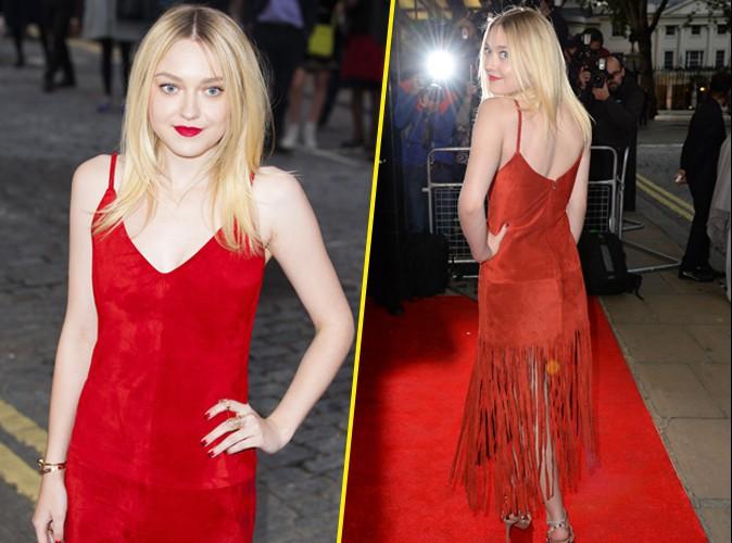 Photos : Dakota Fanning : alerte (rouge) à la sublime blonde à la première mondiale d'Effie Gray !
