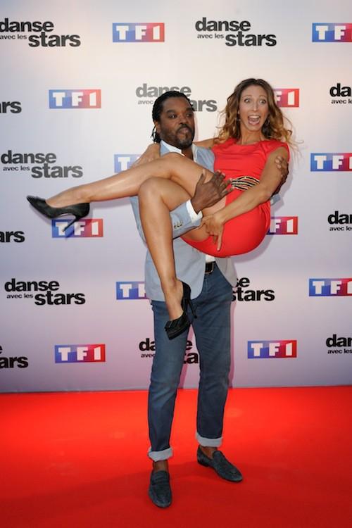 Anthony Kavanagh et Silvia Notargiacomo lors du Photocall DALS 5 à Paris le 10 septembre 2014