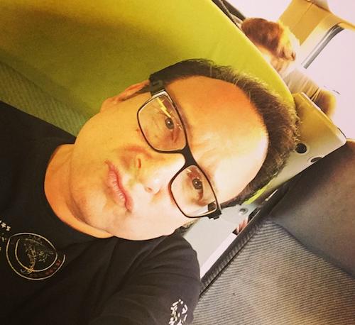 Jean-Marc Généreux dans le train