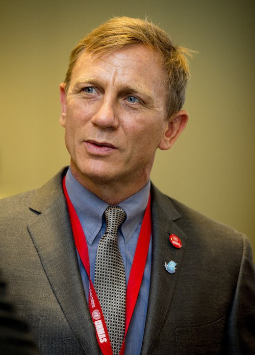 Photos : Daniel Craig : James Bond dit non à la violence pour l'Onu !