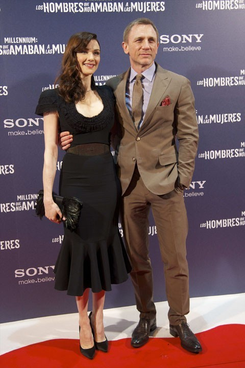 Daniel Craig et Rachel Weisz hier soir à Madrid !
