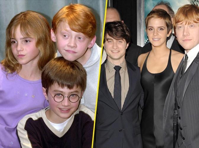 Photos : Daniel Radcliffe, Emma Watson, Rupert Grint... retour sur le fabuleux destin des héros de Harry Potter !