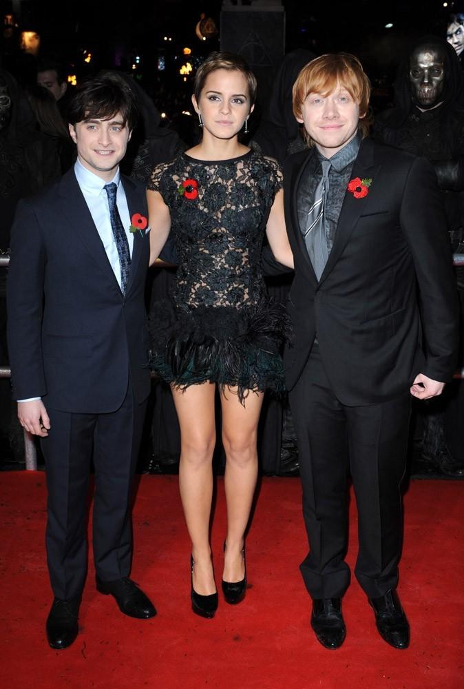 Photos : Emma, Daniel et Rupert pour la Première à Londres de Harry Potter et les reliques de la mort