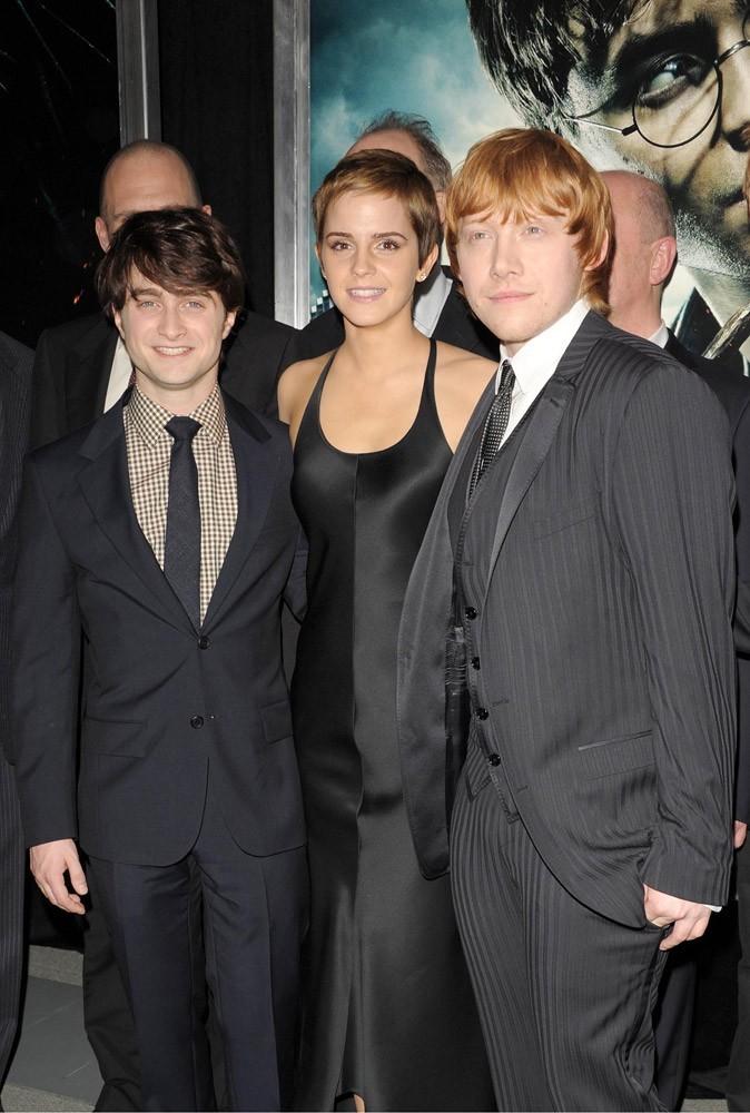 Photos : Emma, Daniel et Rupert pour la Première à NY de Harry Potter et les reliques de la mort, partie 1 !