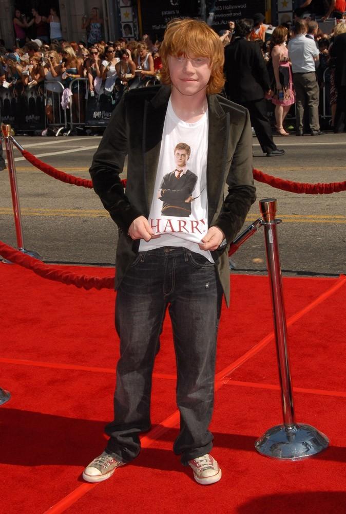 Photos : Rupert Grint en pleine promo !