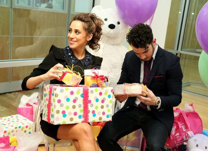 Danielle et Kevin Jonas à New-York le 4 décembre 2013