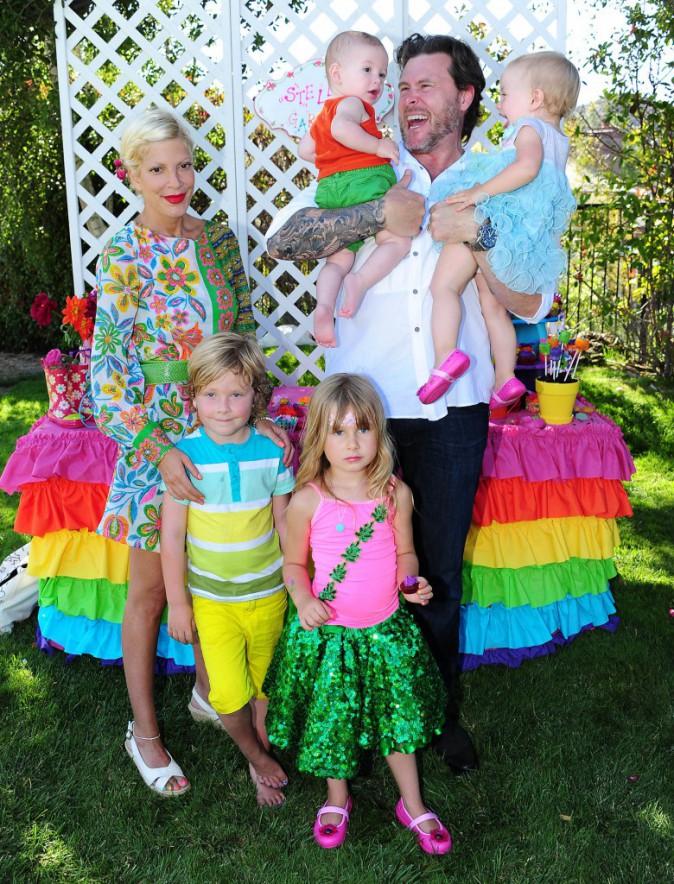 Anniversaire de Stella, 5 ans, fille de Tori Spelling. Le 3 septembre 2013