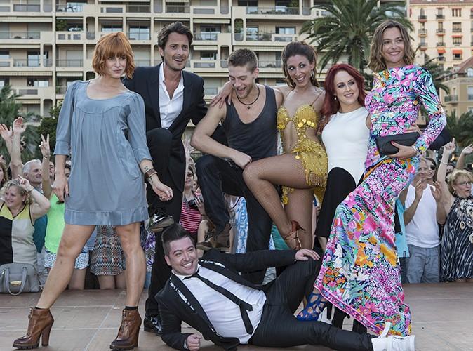 """L'équipe de """"Danse avec les stars"""" à Monte-Carlo le 8 juin 2014"""