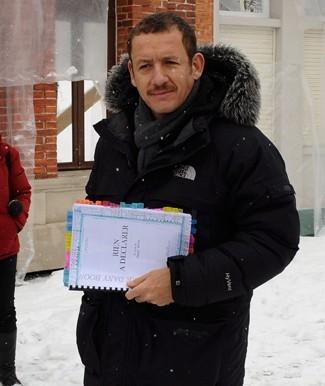 Au début du tournage en février 2010 !
