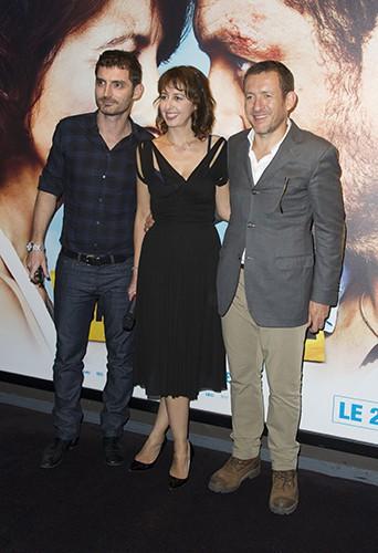 Alexandre Coffre, Valérie Bonneton et Dany Boon à Paris le 30 septembre 2013
