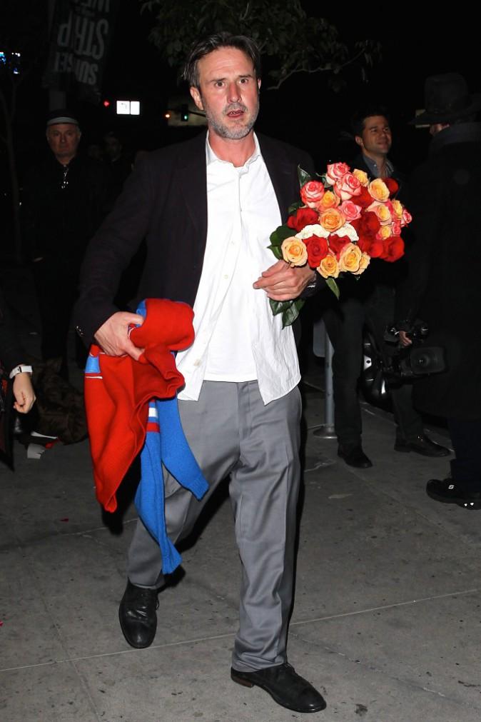 David Arquette le 9 décembre 2014
