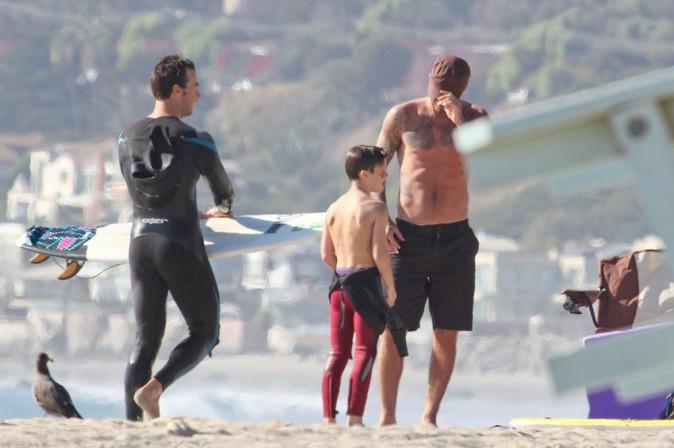 David Beckham : après-midi à la plage en tête à tête avec son adorable Cruz !