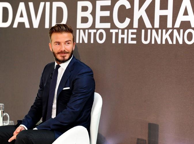 David Beckham : au poil pour la promotion de son nouveau documentaire à Londres !