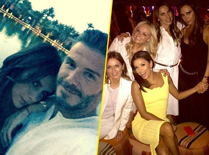 Photos : David Beckham, bien entouré pour ses 40 ans avec les Spice Girls et Eva Longoria !
