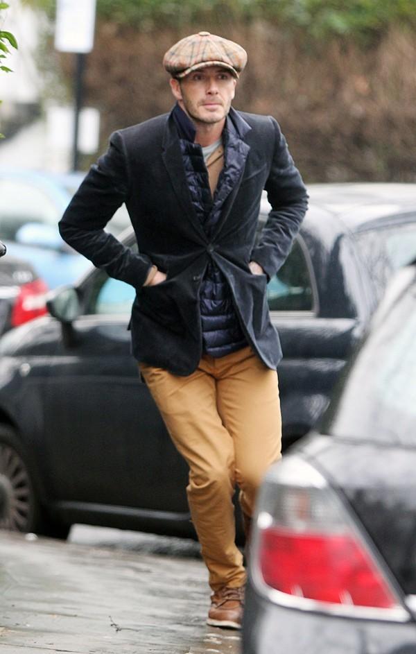 David Beckham à Londres le 23 janvier 2013