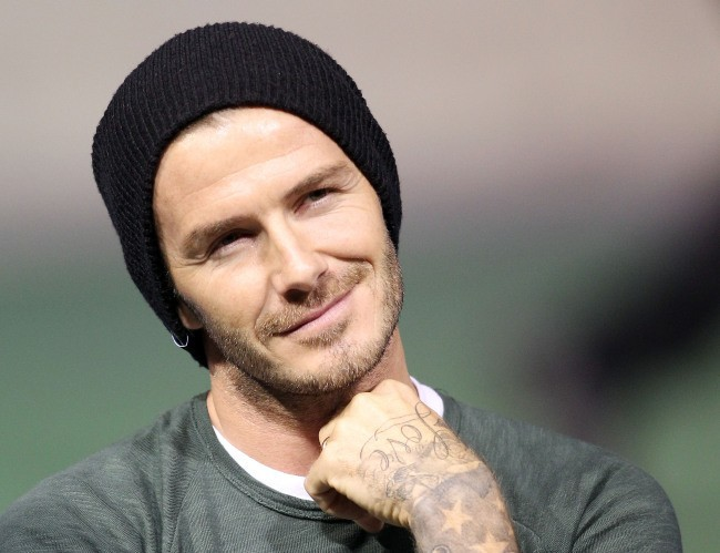 David Beckham le 3 décembre 2012 à Carson, en Californie