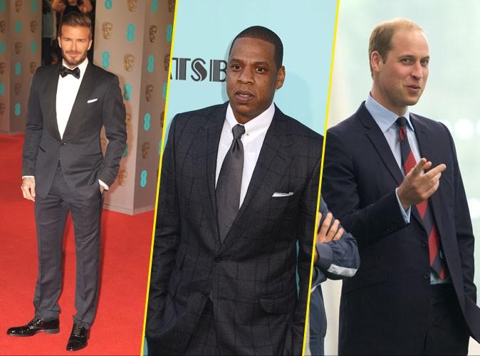 David Beckham, Jay-Z, Prince William... Tous taillés comme des monuments britanniques !