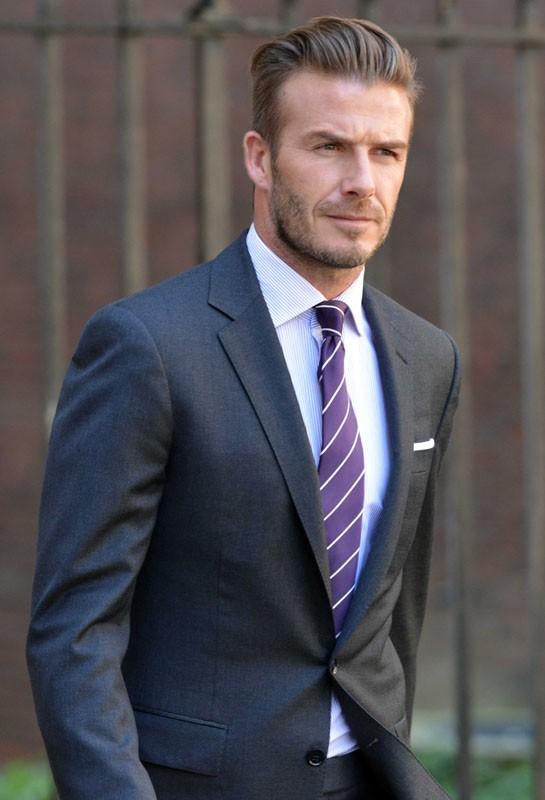 David Beckham à Londres pour rencontrer le Premier ministre
