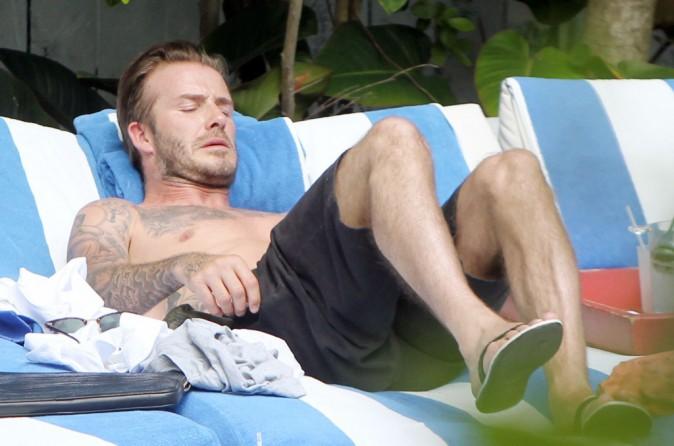 Photos : David Beckham : le beau gosse bronze solo à Miami !