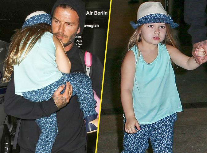 David Beckham : pas touche à Harper, sa princesse stylée à croquer !