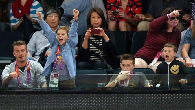Famille de fans de sport !